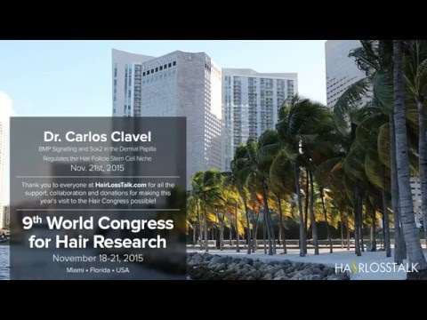 Dr. Carlos Clavel - BMP Signalling and Sox2 in the Dermal Papilla