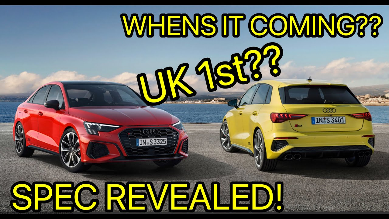 I BOUGHT A NEW 2021 AUDI S3!! FIRST IN THE UK?!?!