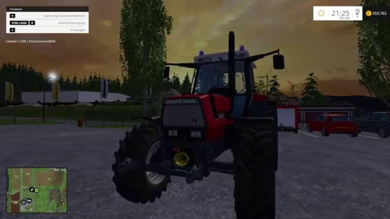 traktor feuerwehr mod f r landwirtschafts simulator 15. Black Bedroom Furniture Sets. Home Design Ideas