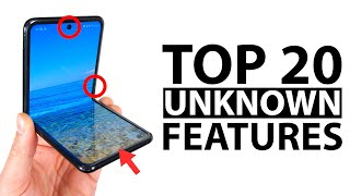 Top 20 Unknown Samsung Galaxy Z Flip Features