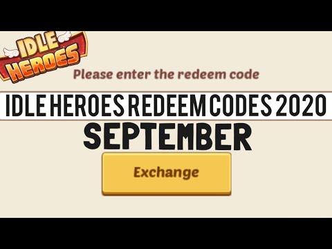 Idle Heroes Redeem Codes September 2020 - YouTube