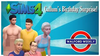 Big Mo Throws Callum the BEST Birthday Party in the Sims 4