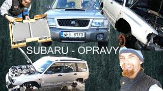 Subaru Forester - Úpravy a Opravy - Rozborka část 1. :) BEZ KOMPRESE (: