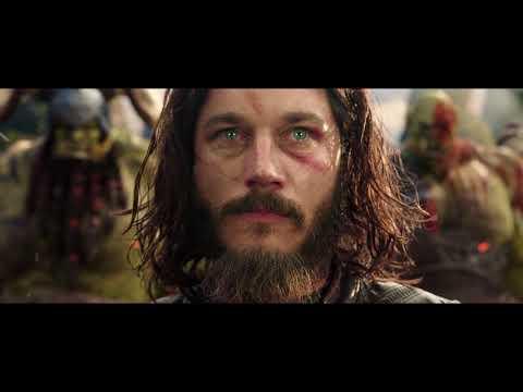 Лотар против Чернорука Мак'гора   Сцена боя   Warcraft 2016 Movie Clip HD