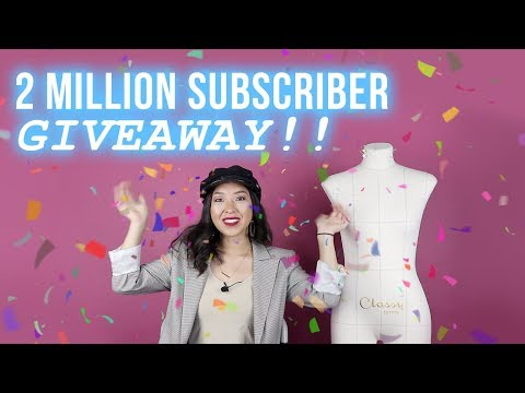 2 MILLION SUBSCRIBER GIVEAWAY!