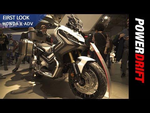 Honda X ADV : EICMA 2017 : PowerDrift