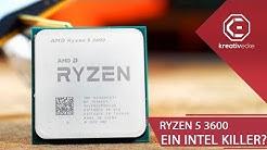 IST DAS DAS ENDE für INTEL?! Der AMD Ryzen 5 3600 ist ein WAHRES MONSTER!