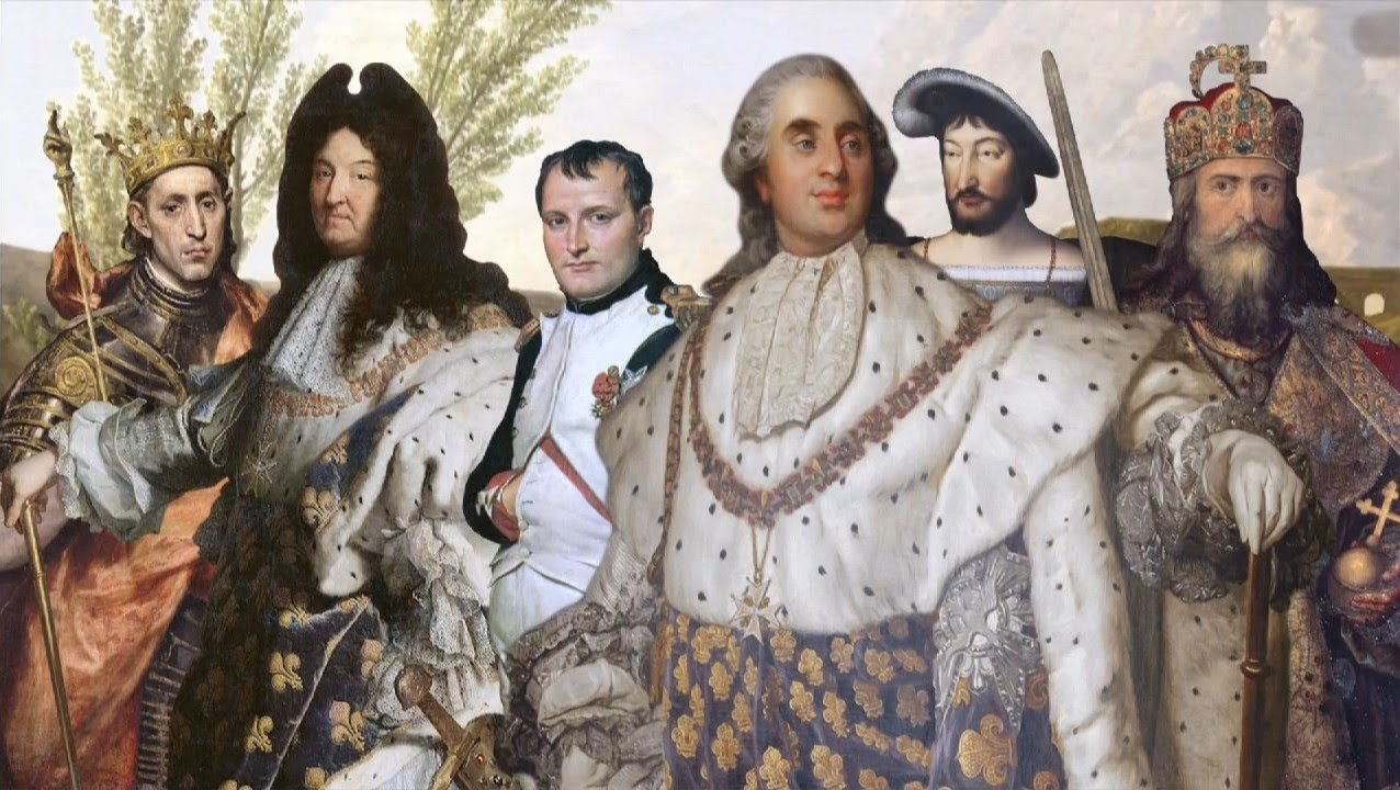 All Presidents, Emperors, and Kings of France - YouTube