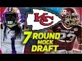 KANSAS CITY CHIEFS 2018 MOCK DRAFT   Trying To Replace Marcus Peters