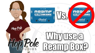 Do guitarists need a Reamp box or not? - Radial ProRMP VS Just a cable