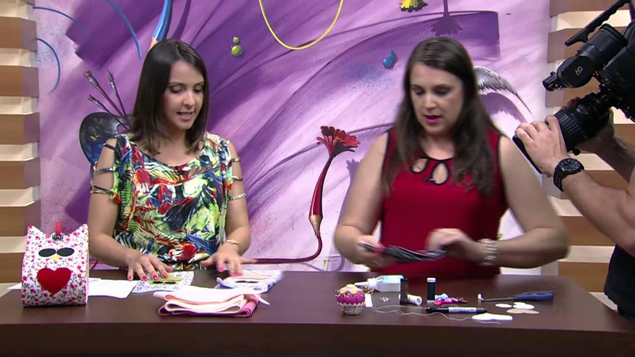 Super Mulher.com - 13/10/2015 - Porta papel de coruja - Tania Vietro  VQ94