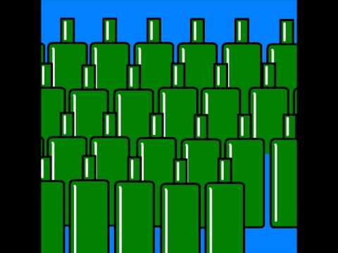 Green bottles by Twisted Anvil