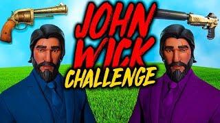 John Wick Challenge Med Cactufee!! 🔥 - Fortnite Svenska