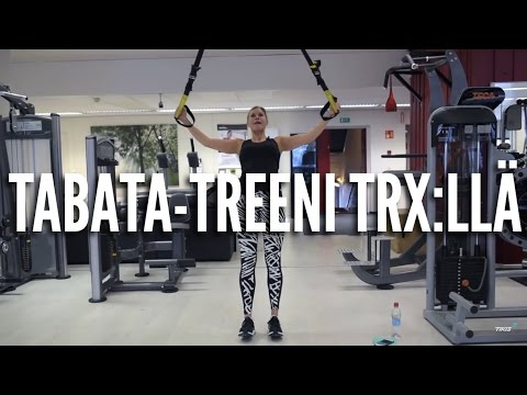 Tabata-treeni TRX:llä -