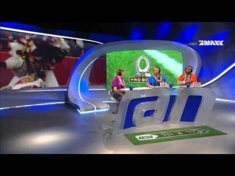 NFL 2015/16 Pro Bowl  - Team Rice vs. Team Irvin (Fake Interception Fumble Recover by Jan Stecker)