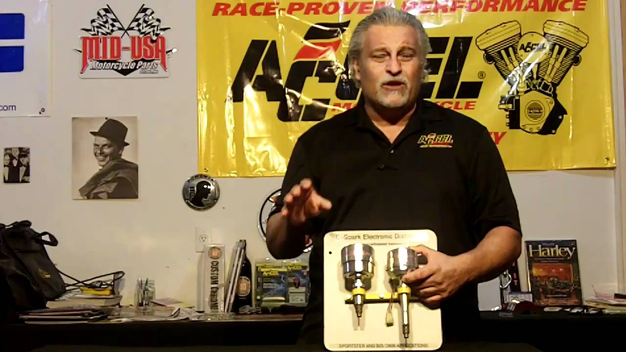 Accel Mallory Motorcycle Distributors Youtube Unilite Timing Advance