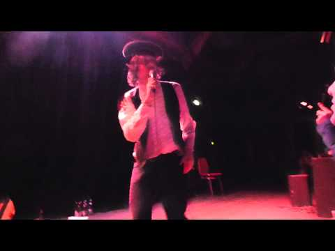 Adam Green acoustic - Buddy Bradley - live Ampere Munich 2014-02-06