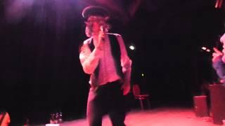 Adam Green acoustic - Buddy Bradley - live Ampere Munich 2014-02-06