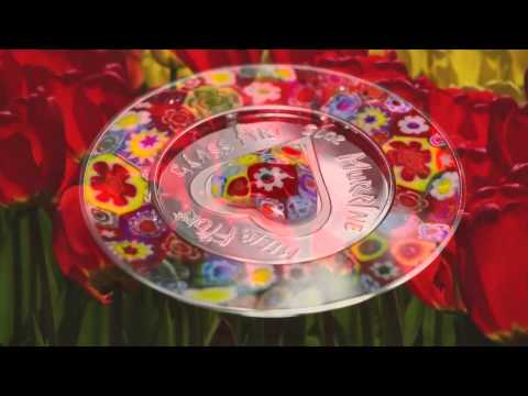 Cook Islands 2015 $5 Venetian Murrine Millefiori Glass Art Proof Silver Coin
