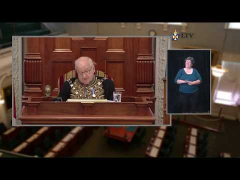 Speech from the Throne - Sept. 21, 2017