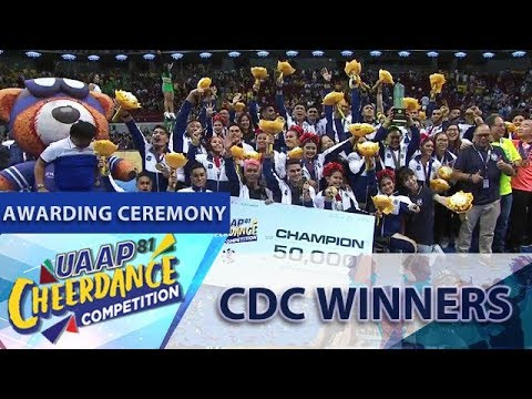 UAAP CDC Season 81: Cheerdance Performance Winners | Awarding Ceremony
