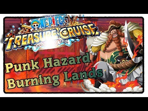 Punk Hazard Burning Lands 1-8 [1/2] - One Piece Treasure Cru