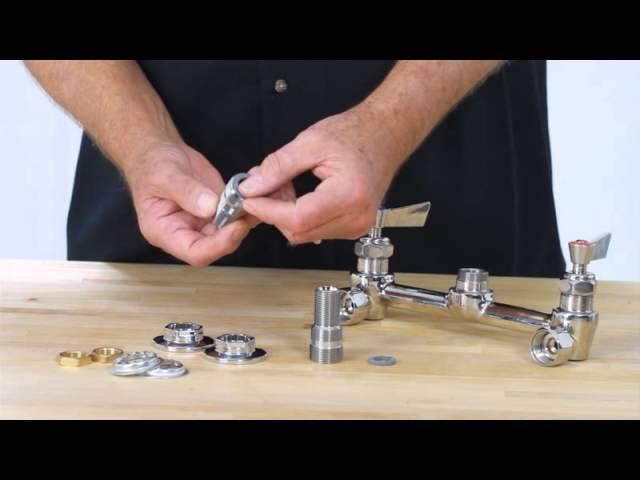 backsplash vs wall mount faucets youtube