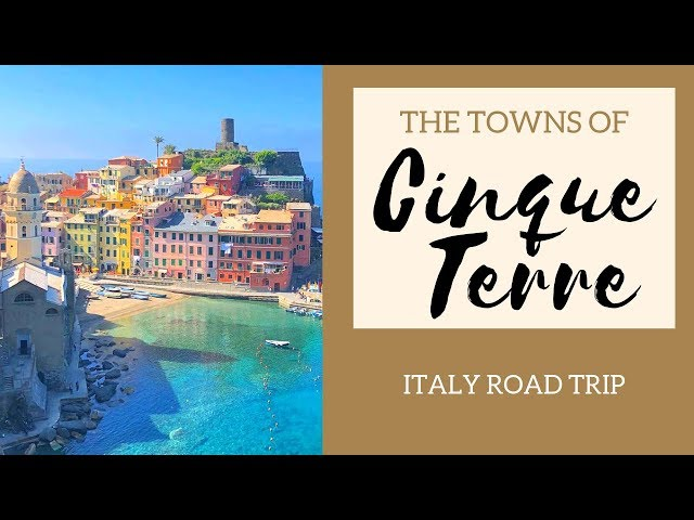 Motorhome Tour of Italy Pt 2- Cinque Terre towns- Europe Road Trip