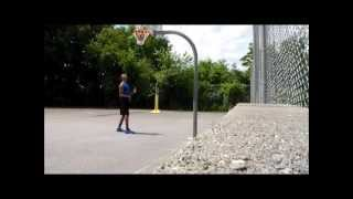 Calvin Young Basketball Work Out