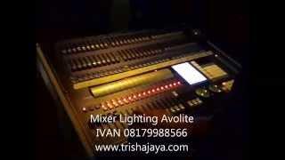Demo Stage Lighting ( lampu panggung )