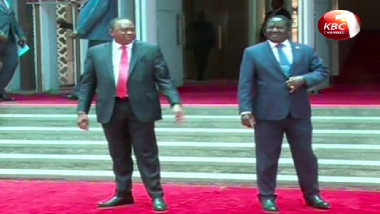 President Uhuru, Raila call for unity in rare meeting (full speeches)