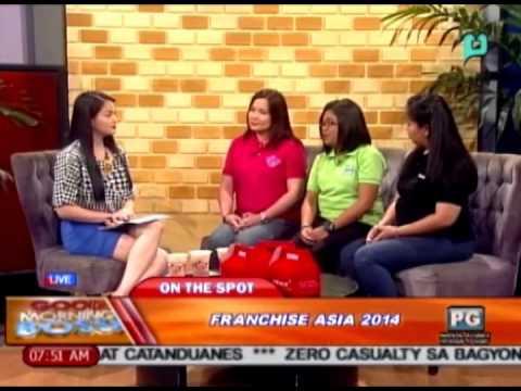 [Good Morning Boss] Panayam ukol sa Franchise Asia 2014 [07|15|14]