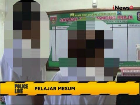 Alamak!! Pelajar SMA Kepergok Mesum di Mobil - Police Line 28/07