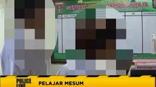 Repeat youtube video Alamak!! Pelajar SMA Kepergok Mesum Dalam Mobil - Police Line 28/07
