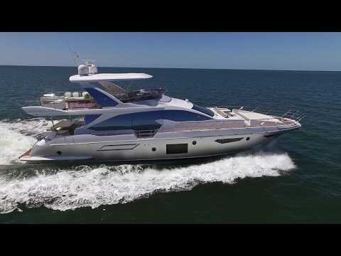 2020 Azimut 72 Flybridge For Sale At MarineMax Naples Yacht Center