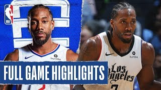CLIPPERS at TIMBERWOLVES | FULL GAME HIGHLIGHTS | December 13, 2019