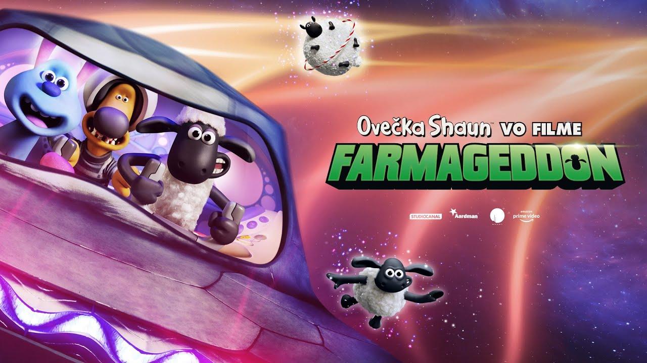 OVEČKA SHAUN VO FILME: FARMAGEDDON - v kinách od 17. októbra - trailer F2 (slovenský dabing)