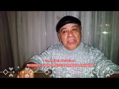 ENTORNO LATINO NY  SALUDO NAVIDEÑO SR. RAFAEL CASTELAR