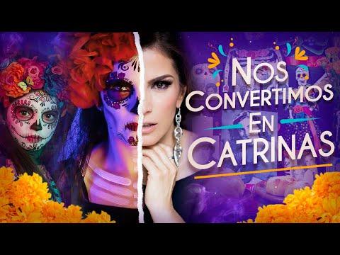 AITANA Y YO NOS VESTIMOS DE CATRINAS 💀 Mi Altar de Día de Muertos 🌼 | Alessandra Rosaldo