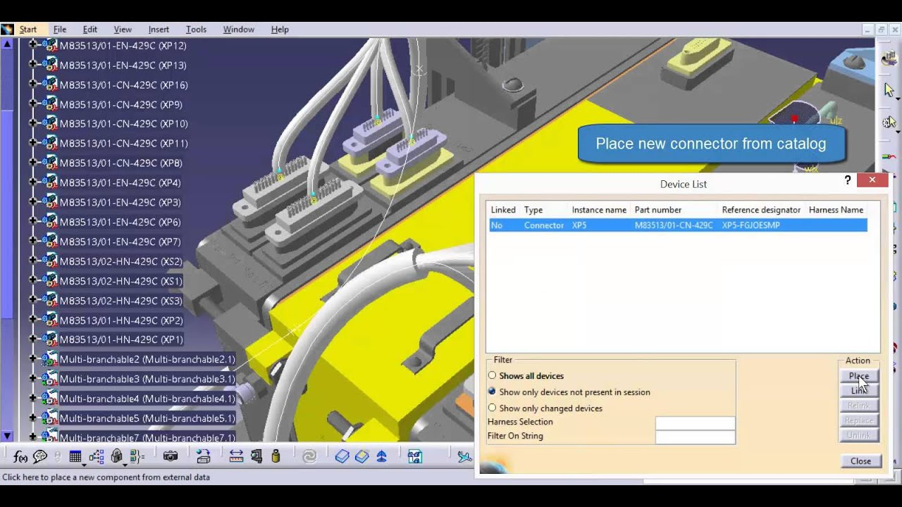 Harness Design Altium Designer Catia Electrical