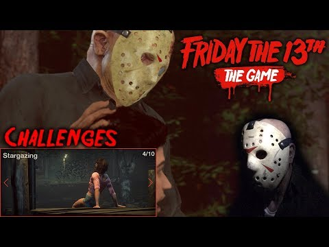 Friday The 13th The Game - Gameplay 2.0 - Challenge 4 - Jason Part 4