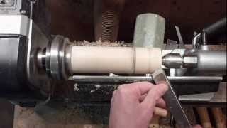 Woodturning Train Whistle