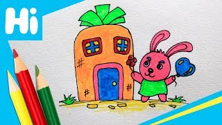 How to Draw a Rabbit For Kids