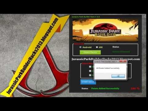 Jurassic Park Builder Hack [ Android / IOS ] [ NOVEMBER - 2013 ]