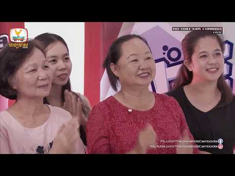 No Chhou Siv Heng - Let It Go (Live Show  Final | The Voice Kids Cambodia 2017)