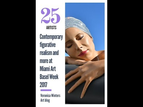Contemporary figurative realism: paintings, sculpture, photography at Miami Art Basel Week 2017