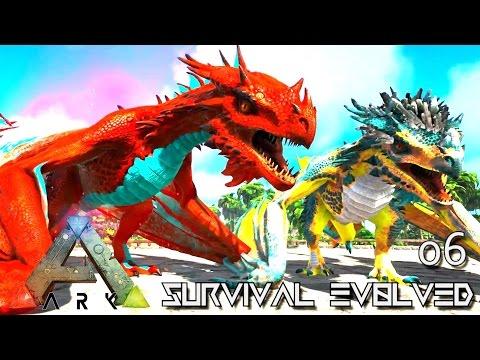 ARK: SURVIVAL EVOLVED - PRIME ALPHA WYVERN TAME & POISON ARMY !!! E06 (ARK ETERNAL CRYSTAL ISLES)