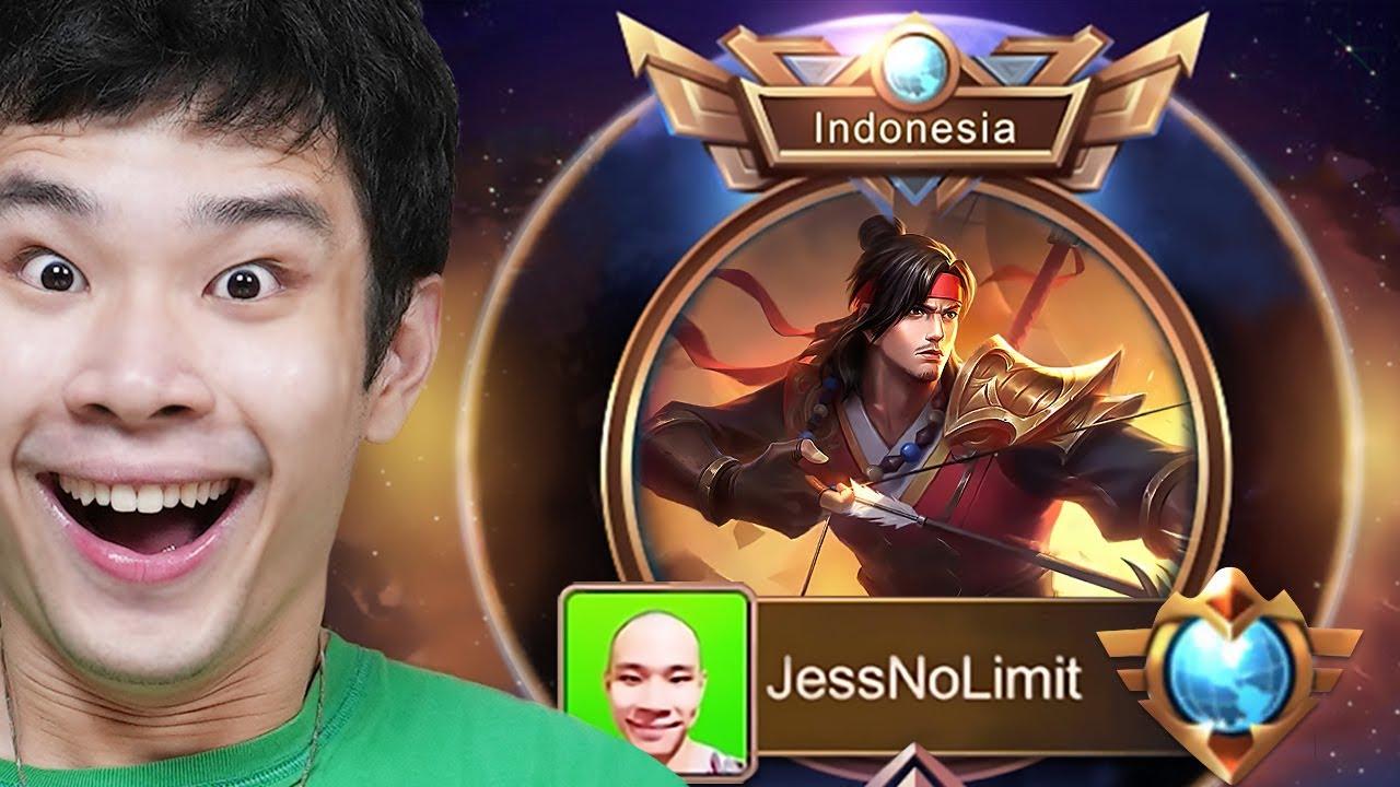 Detik-Detik Masuk Supreme Indonesia Yi Sun-shin - Mobile Legends