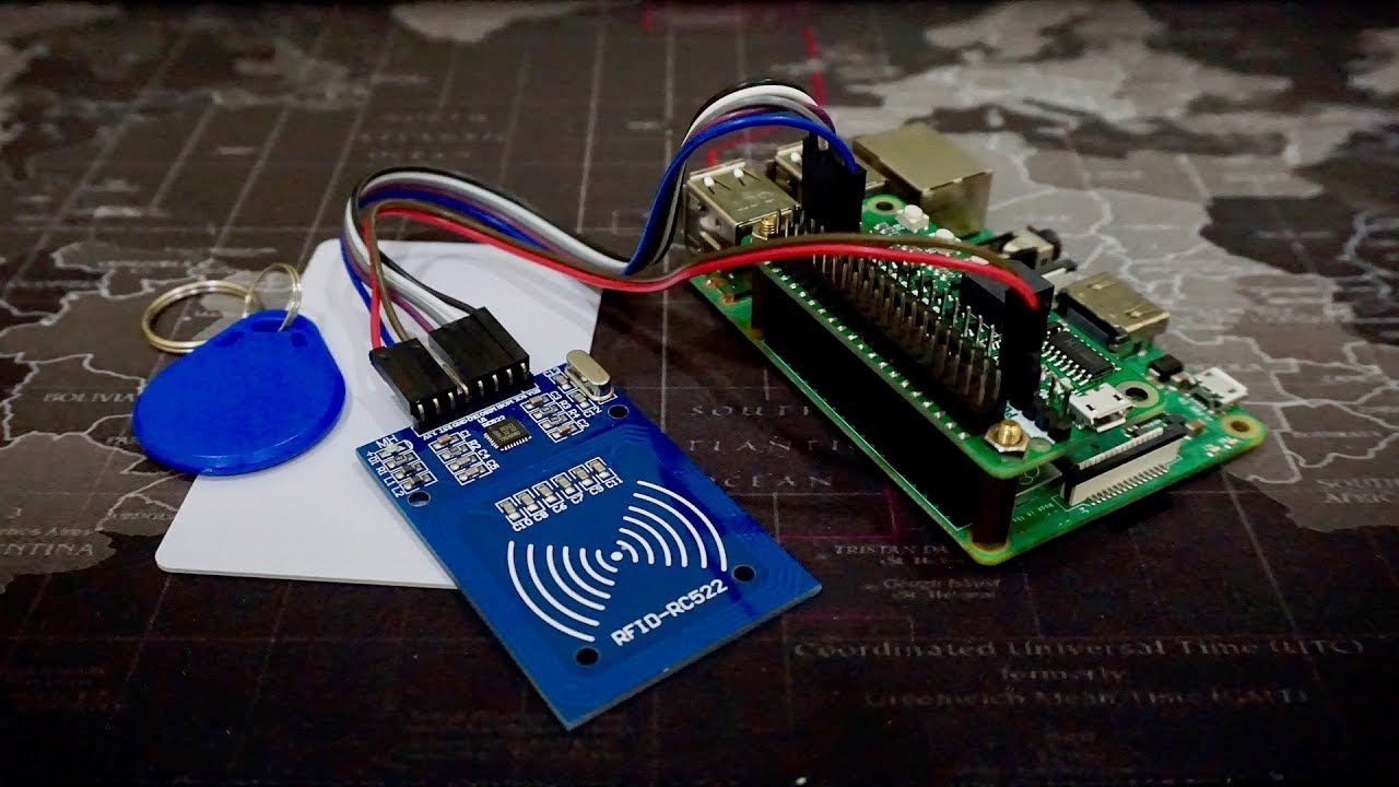 Reading RFid Tag Using Mifare RC522 and Raspberry Pi