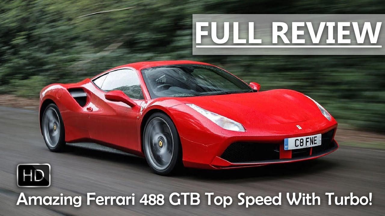 Ferrari 488 top speed